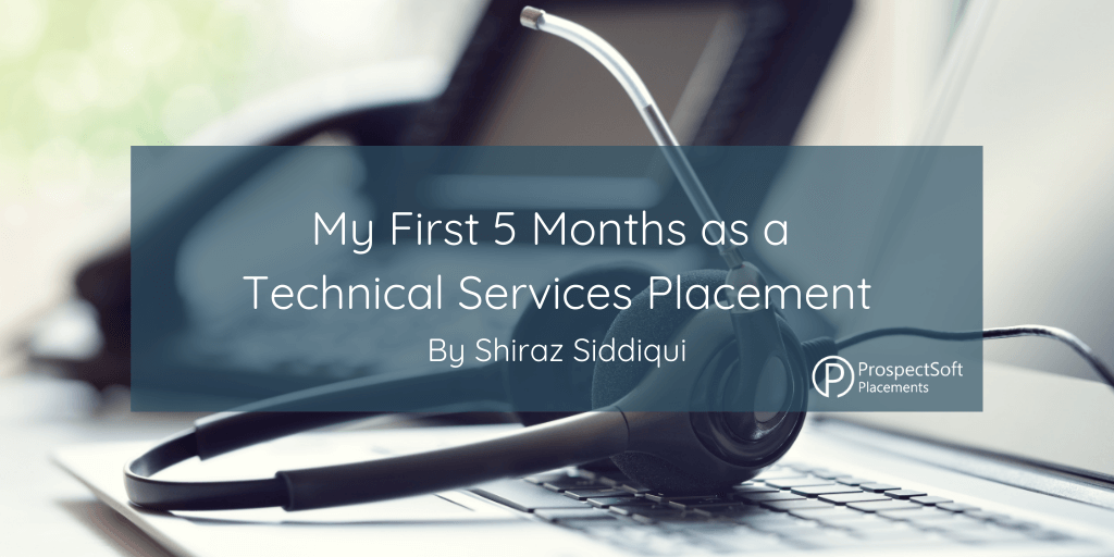My First 5 Months as a Tedhnical Services Placement