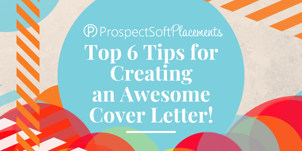 To Help You Craft The Most Outstanding Placement Application Read Our Top 6 Tips For Creating An Awesome Cover Letter